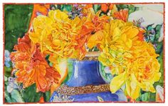 Joseph Raffael...my favorite watercolor artist!