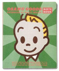 OSAMU GOODS NOTE BOOK JACK