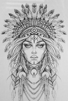 Tattoo Design Drawings, Art Drawings Sketches, Tattoo Sketches, Drawing Tattoos, Face Drawings, Full Sleeve Tattoos, Tattoo Sleeve Designs, Girls With Sleeve Tattoos, Tattoo Sleeves