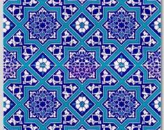 Kitchen/ bathroom Turkish tile/wall decals Single di Bleucoin