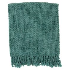 Showcasing fringed edges and a woven design, this cozy acrylic and wool throw blanket is the perfect addition to an English countryside farmhouse or an airy seaside bungalow.<br/><br/>The Mabel Throw can add a great layer of both comfort and decor to any home. The throw is usable in any weather and keeps you warm and cozy. It is available in multiple rich colors that look classic. The lightweight throw can be used for outdoor trips or draped on your sofa or bed to add an...
