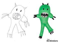 Da vida a sus dibujos! #niños #dibujos #muñecos #kids #drawing #toys http://holaincubadora.wordpress.com/2013/12/23/da-vida-a-sus-dibujos/