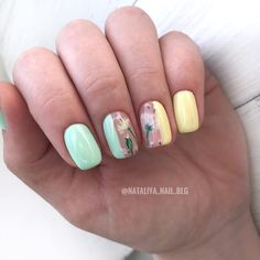 Short Nail Manicure, Manicure Nail Designs, Shellac Manicure, Manicure And Pedicure, Nail Art Designs, Manicure Ideas, Manicure Pictures, Nail Designs Pictures, Cute Nails