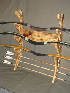rack for bows and arrows
