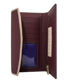 ClaudiaG Collection - Easy Wallet - Marsala SPECIAL Black Friday Pricing through 11/27