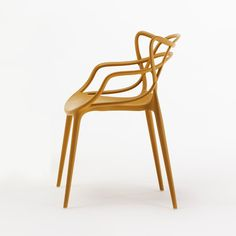 Masters Chair, Mustard, Kartell