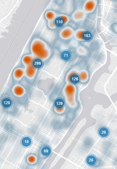 The Best Nyc Maps Of 2014 Commercial Real Estate