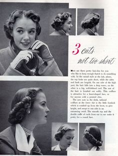 medium length 50s hair. don't like the back, but i like the front