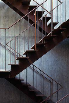 mount fuji architects studio stacks shipbuilders' residences in japan