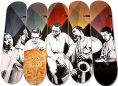 Jazz on Skateboards
