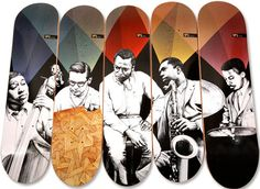 Jazz on Skateboards