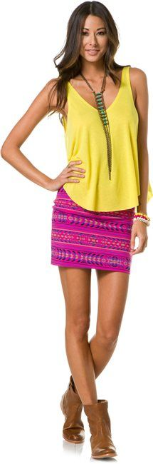 BILLABONG SHOW ME MINI SKIRT > Womens > Clothing > Skirts | Swell.com