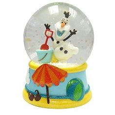Frozen Olaf Musical Snow Globe (Plays Let It Go)
