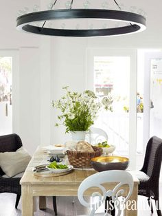 #Kitchen of the Month, October 2012. Design: Mick De Giulio. Dining Area