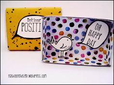 Matchbox, Minischachtel, oh happy day!, denk immer positiv, give away, stampin`up,  www.trashtortendesign.wordpress.com