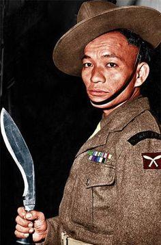 Gurkhas Burma 1944 - pin by Paolo Marzioli