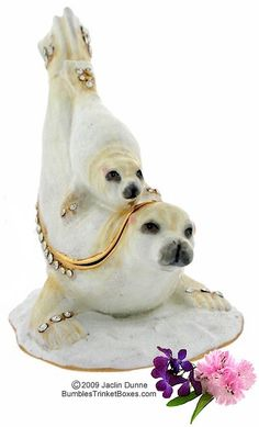 Trinket Box: Seal and Baby