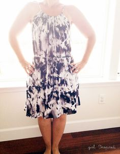 Pillowcase Dress Tutorial - make a shirt or dress for adults and kids!  great Swim Coverup and super EASY!