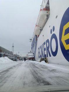 Eckerö Line's M/S Finlandia in the Port of Helsinki.