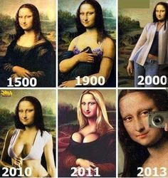 Mona Lisa. HAHAHAHAHA. That made me laugh. HAHAHAHAHA. Good one.