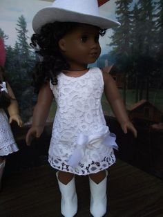 Southern+Country+Charm+American+Girl+doll+White+by+VintiqueDesigns,+$22.99