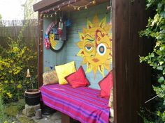 "Reclaimed wood DIY hippy shack.  Pinner said:  ""Made from scratch by my clever…"