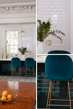 Tithof Tile & Marble with Mercury Mosaics does Bluegrass Brooklyn Brownstone subway tile
