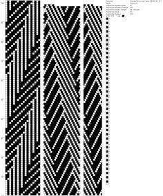 18 around tubular bead crochet rope pattern Bead Crochet Patterns, Beading Patterns Free, Bead Crochet Rope, Crochet Bracelet, Loom Patterns, Beaded Bracelets, Tapestry Crochet, Beading Projects, White Beads