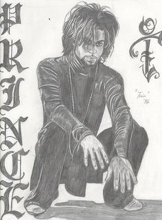 Fan Art of Prince for fans of Prince. Prince Rogers nelson