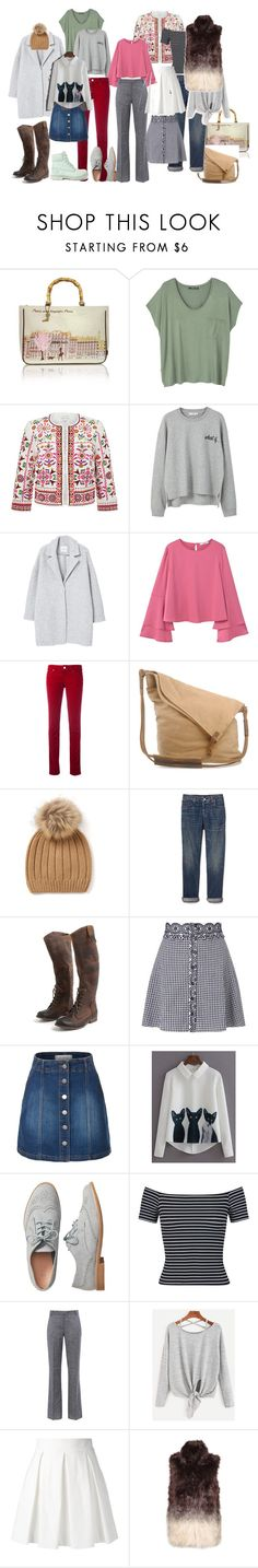 Осеннее. by galinastyle on Polyvore featuring мода, MANGO, WithChic, Miss Selfridge, Monsoon, Great Plains, Boutique Moschino, Barbara Bui, Armani Jeans and Gap