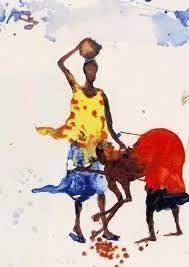 Resultado de imagen para miquel barcelo cuadernos de africano Painting People, Figure Painting, African American Art, African Art, Miquel Barcelo, Picasso Cubism, Sketches Of People, Watercolor Sketch, Watercolour Pens