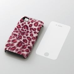 A Beautiful iPhone Case, Inspired by the Leopard, but this one seems to be high on Cotton Candy, color coordinated animal print, made of polyester fiber surface, that just feels like you are touching a Leopard, specially from Japan.