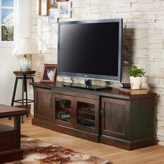 Shop for Furniture of America Walder Vintage Walnut 68-inch TV Stand. Get free shipping at Overstock.com - Your Online Furniture Outlet Store! Get 5% in rewards with Club O! - 17296045
