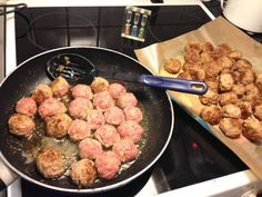 Per Morbergs godaste köttbullar (recept) | Gunilla Healthy Fats, Healthy Choices, Swedish Recipes, Extreme Diet, Vegetable Dishes, Cravings, Snack Recipes, Brunch, Pork