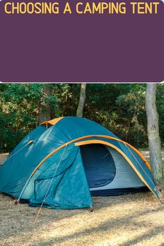 Tents come in all shapes and sizes. If you're car camping, a dome-shaped tent might be best to give more room and comfort. However if backpacking is your thing, then an ultralight 2-person tent will work better (and save weight). We've got you covered with what to look for when buying a tent! Diy Camping, Camping With Kids, Tent Camping, Camping Hacks, Camping Gear, Outdoor Camping, Outdoor Gear, Backpacking, 2 Person Tent