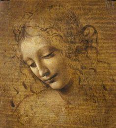 LEONARDO DA VINCI (ITALIAN, 1452–1519) - HEAD AND SHOULDERS OF A WOMAN (LA SCAPIGLIATA) CA. 1500–1505 Dibujo de Leonardo, un artista que dejaba inconclusas muchas de sus obras preparatorias (Galleria Nazionale di Parma) Ver más en: http://www.20minutos.es/fotos/artes/grandes-pinturas-inacabadas-11982/?imagen=2#xtor=AD-15&xts=467263 Leonardo+da+Vinci+(Italian,+1452–1519)+-+Head+and+Shoulders+of+a+Woman+(La+Scapigliata)+ca.+1500–1505