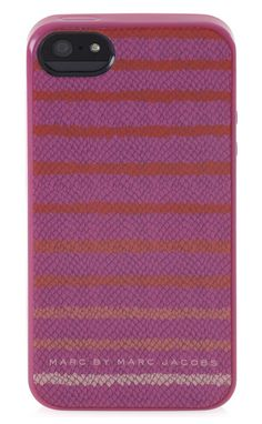 Marc by Marc Jacobs Stripe Snake iPhone 5 case