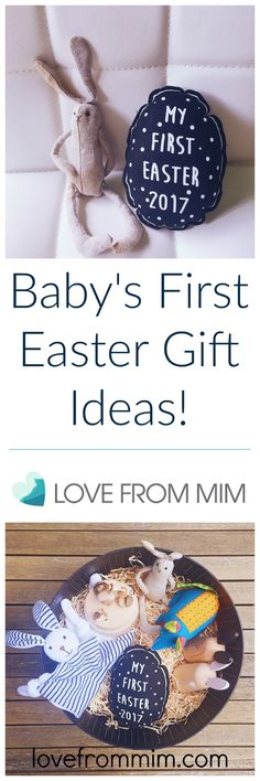Baby's First Easter Gift Ideas - lovefrommim.com Love from Mim, Easter Gifts, Easter, Easter Gifts for Babies, Baby Easter Gifts, Easter Presents, Baby's First Easter, Hamper, Easter Hamper, Baby Gifts, Baby Gift Ideas, New Baby, Newborn, Baby, Babies, Newborn Baby Gift Ideas