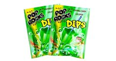 Pop Rocks Dips - Sour Apple