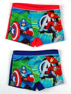 Avengers costume da bagno mare piscina originale Marvel supereroi poliestere