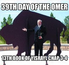 39th day of the Omer!!!