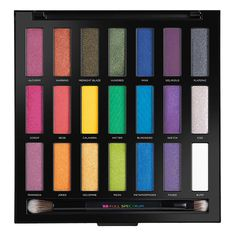 When color is your drug of choice, you know where to get the good stuff. Satisfy your color addiction with Urban Decay's Full Spectrum Eyeshadow Palette, a limited-edition set featuring 21 shades of their iconic Eyeshadow (the most ever in any UD palette!)—from bold brights to matte white. UD organized the shadows by color family, creating a rainbow of ombré trios: pinks, oranges, yellows, greens, blues, purples, and even a wildcard row that goes from white to black. The end result? A…