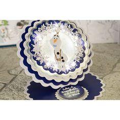 Disney Frozen Olaf Wreath Die (376377) | Create and Craft