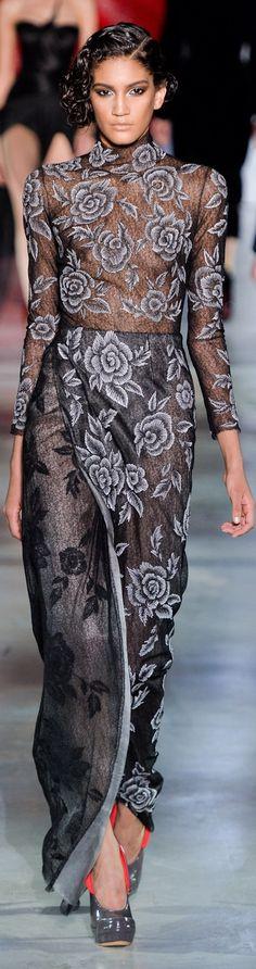 Ulyana Sergeenko Couture Fall 2014 – inspiration we love at CASSIE Beauty Spot #beautyspot