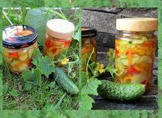 Sałatka szwedzka z ogórków na zimę - przepis ze Smaker.pl Fresh Rolls, Pickles, Cucumber, Ethnic Recipes, Food, Essen, Meals, Pickle, Yemek