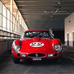 """ถูกใจ 687 คน, ความคิดเห็น 4 รายการ - The Ferrarist (@theferrarist) บน Instagram: """"""""Plate matching..."""" • Ferrari 250 GTO • Photo by @alexpenfold • #theferrarist #ferrari #lamborghini…"""""""
