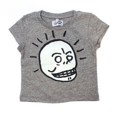 So cute, Seth loves skulls. Cute Outfits For Kids, Cute Kids, Kool Kids, Cheap Monday, Aries, Skulls, Kid Stuff, Baby Boy, Child