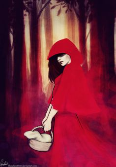 Red riding hood doodle