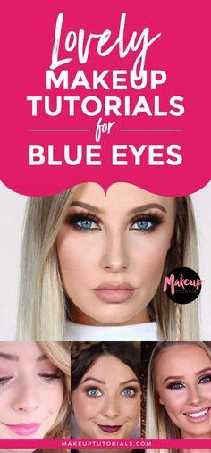 makeup tutorials for blue eyes | Lovely Makeup Tutorials For Blue Eyes