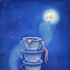 I love tea and I love the moon  https://www.facebook.com/pages/The-Little-Tea-Room/152299044931075